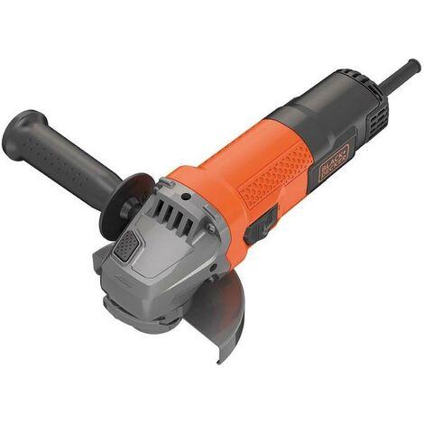 "main image of ""BLACK&DECKER BEG110-QS - Mini Amoladora eléctrica 750W 115 mm velocidad 12.000 rpm diametro del eje M14"""