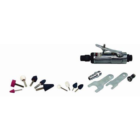 Amoladora Neumatica Mini 80Lt/M Nekn11 6,3Bar 10Pz Cevik Pro