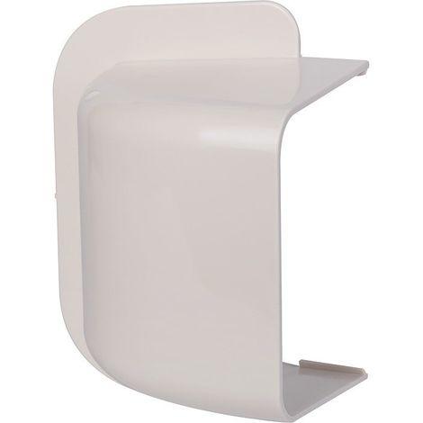 Amorce demur plastique rigide beige Largeur goulotte (mm) 110
