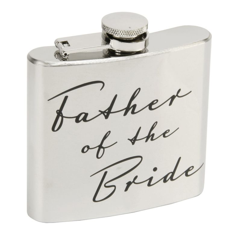 Image of BY JULIANA� Father of the Bride Hip Flask - Amore