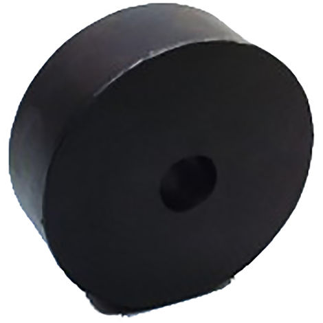 Amortisseur antivibration, KPRD Dia. 20mm, Caoutchouc naturel, Circulaire 25mm Acier Inoxydable