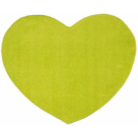 AMOUR - <p>Tapis en forme de coeur anis diam.70</p> - Vert