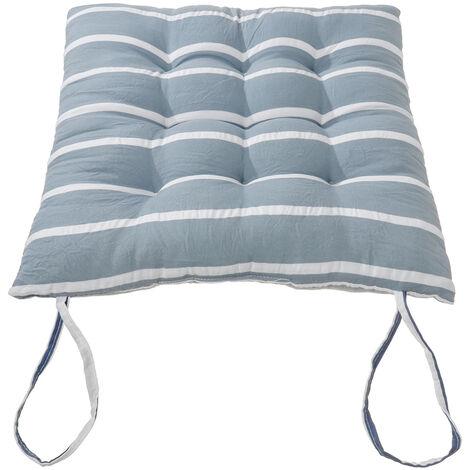 Amovible Doux Confortable Sit Mat Chaise Coussins De Siège Coussins De Coussin Hiver avec Corde à Cravate 40x40cm
