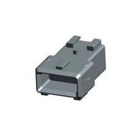 Amp 1-144546-8 Connector automotive female MK IV - 3 way - 1 row - grey