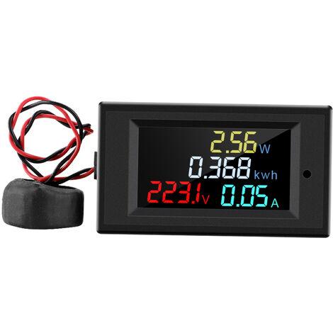 Amperemetre et voltmetre numerique AC 80-300V compteur multifonction D69-2049 amperemetre et voltmetre numerique