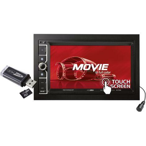 Ampli-tuner multimédia 2 DIN Caliber Audio Technology 801DAB-BT 801DAB-BT 1 pc(s) X578711