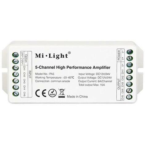 Amplificador 5 canales