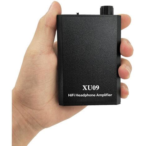 Amplificador de auriculares compacto, amplificador de auriculares silencioso