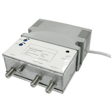 Amplificador de banda ancha Electro DH, para TDT y analógico, con ajuste de ganancia, regulación pendiente, 60.275
