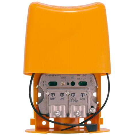 Amplificador de mástil NanoKom UHF-VHFmix-Fimix (Auto-LTE C.48/60) (Televes 561620)