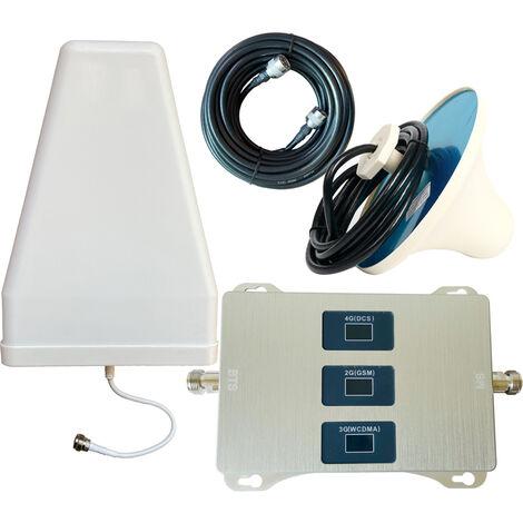 Amplificador de pantalla LCD de tres bandas, amplificador de senal universal