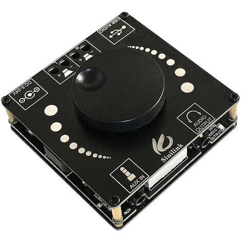 Amplificador de Potencia TPA3116D2 BT5.0 digital de audio portatil mini altavoz del amplificador de sonidos de amplificador para el coche y el hogar