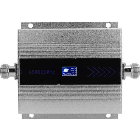 Amplificador de senal de telefono movil LCD GSM900MHz, sistema de amplificador de senal, con antena de ventosa