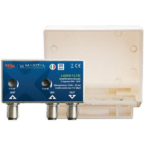 Amplificador de TV FTE desde la pole digital terrestre filtro LTE 22 -24db