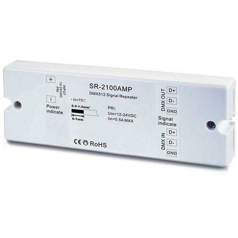 Amplificador LB2100 DMX512-DC