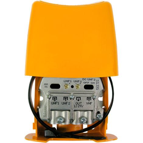 Amplificador Mastil 28db 3e Uhf-uhf-vhfmix Lte790 Nanokom 561721