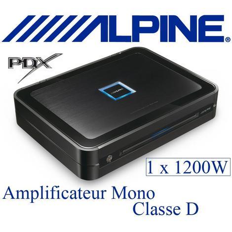 Amplificateur Alpine PDX-M12 1200W