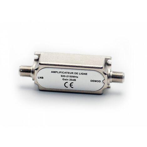 Amplificateur de ligne satellite 20 dB