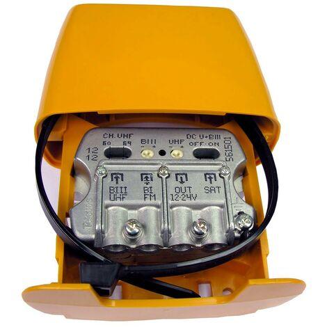 Amplificateur de mât 29dB 3e FM-UHF-FI