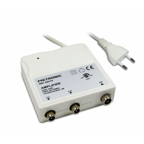 Amplificateur d'intérieur FM/UHF à réglage de gain