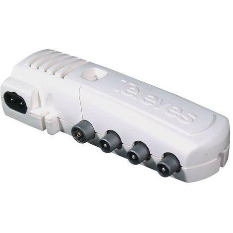 Amplificateur intérieur 3 sorties VHF / UHF CEI LTE prêt Televes 552840