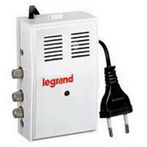 Amplificateur Legrand 91054 TV UHF-VHF 24DEC