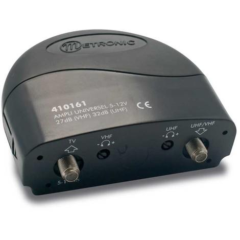 Amplificateur premium blindé 30dB UHF/VHF/mixte