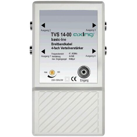 Amplificateur répartiteur Axing TVS 14 R19474