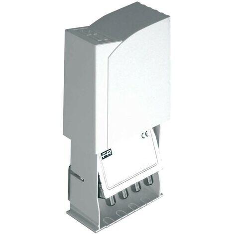 Amplificateur TV Fracarro par paul 2 entrées bande III+DAB+UHF,UHF 12V 21 db