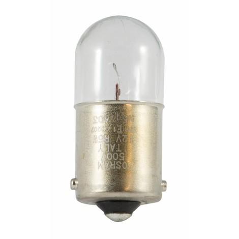 Ampoule 12 V 5 W (ba15s) sphérique