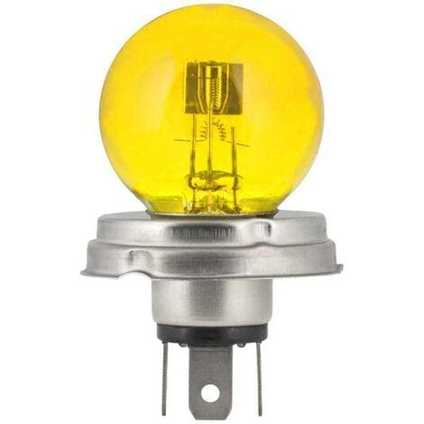 "main image of ""Ampoule 12V 45/40W P45t jaune code + phare voiture moto tracteur"""