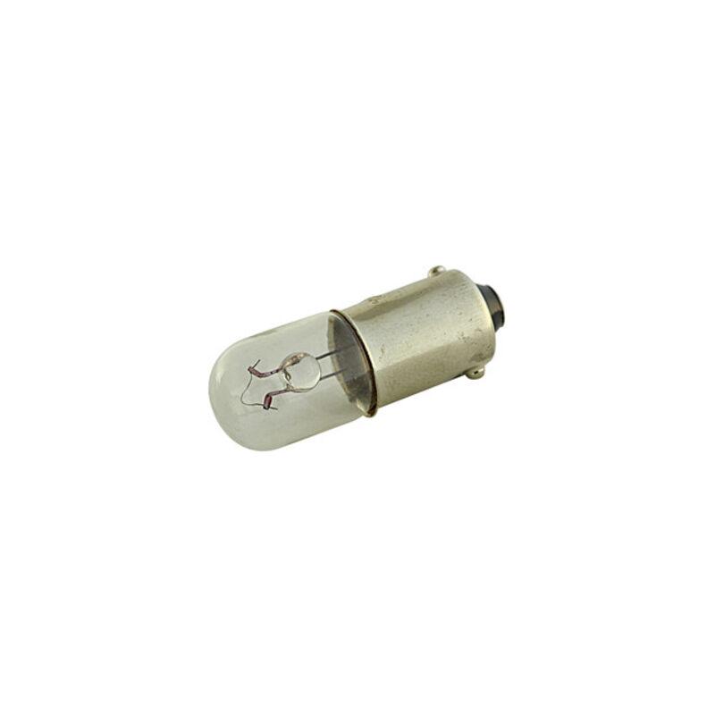 Ampoule à baïonnette 12v 0,3amp Ba9s 12.360/12/0.3