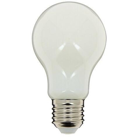 Ampoule à filament LED A60, culot E27, 8W cons. (75W eq.), lumière blanche neutre   Xanlite