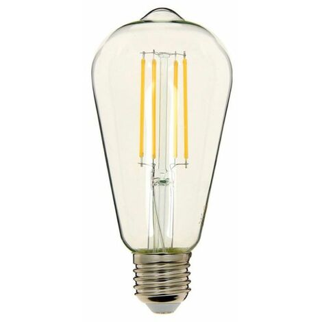 Filament EdisonCulot Led E278w Neutre EqLumière Ampoule Cons75w À Blanc dhQtsrC