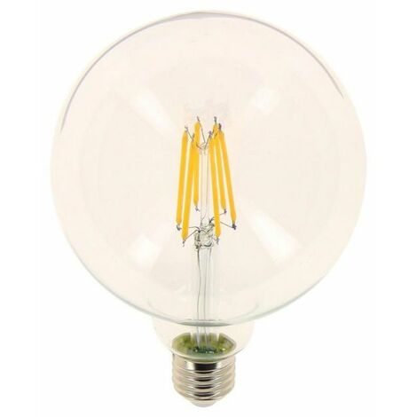 ampoule filament led g125 culot e27 10 6w cons 100w. Black Bedroom Furniture Sets. Home Design Ideas