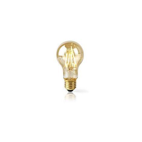 AMPOULE À FILAMENT LED INTELLIGENTE WI-FI | E27 | A60 | 5 W | 500 LM NEDIS WIFILF10GDA60