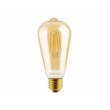 Ampoule à filament led TOLEDO Retro ST64 Ambré EDI E27 825 4,5W = 36W SYLVANIA