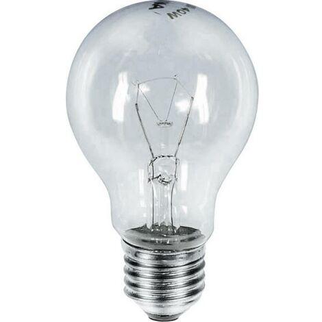 Ampoule à incandescence AGL E27 klar stossfest 235V 60W NL23660K E27 Puissance: 60 W clair