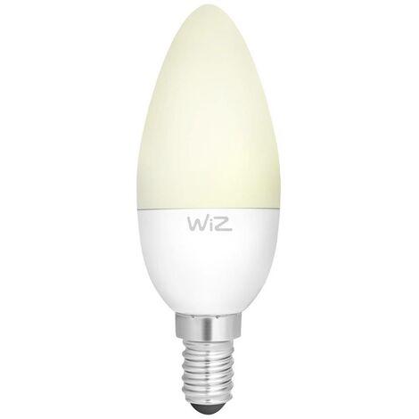 Ampoule à LED EEC: A+ (A++ - E) WiZ WZ20443511 WZ20443511 E14 Puissance: 5.5 W blanc chaud 6 kWh/1000h