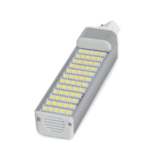 Ampoule À LED G24 4Épingles De 60 X SMD5050 12W 1000Lm 30.000H