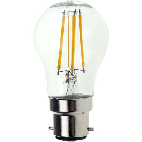 Ampoule à LED, puissance 4 W - 40W, culot B22, 470 lm, Blanc chaud, 240 V