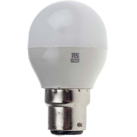 Ampoule à LED, puissance 5,6 W - 40W, Variation lumière, culot B22, 470 lm, Blanc chaud, 240 V