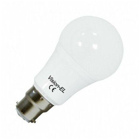 Ampoule bulbe LED B22 - 10W - 3000°K - IP40