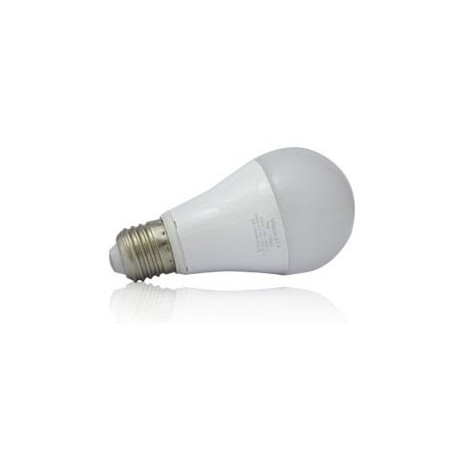 Ampoule bulbe LED E27 - 6W - 6000 K - blister