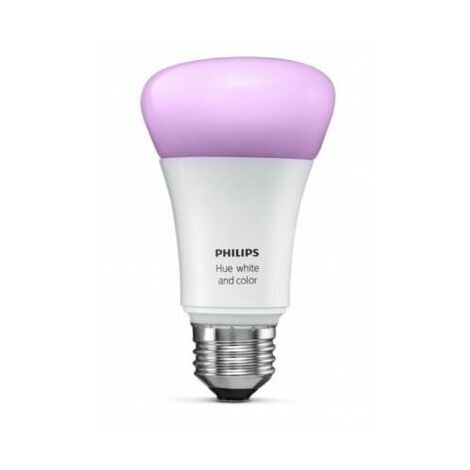 Ampoule couleur connectée E27 Philips HUE compatible TaHoma SOMFY - 1822505.