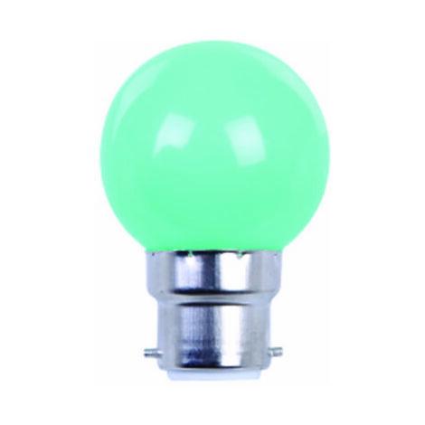 AMPOULE COULEUR LED VERTE B22