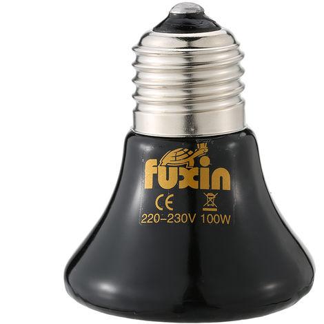 Ampoule De Chauffage Pour Animaux De Compagnie 220V 100W, E27, Ceramique Infrarouge