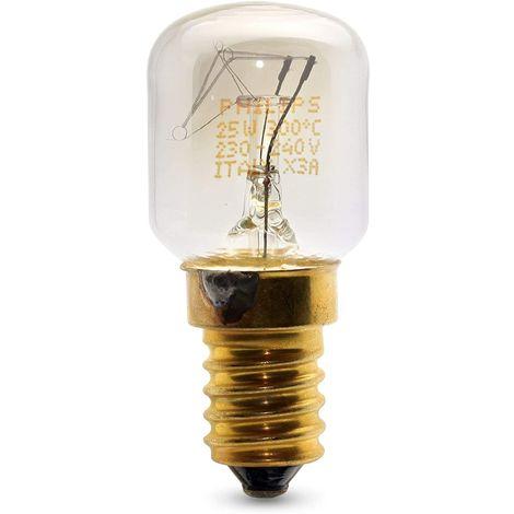 Ampoule de four a culot a vis 25 W E14/SES 300? pour four toutes marques