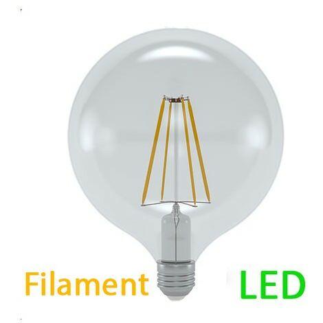 Ampoule Cm Diamètre E27 Filament Chaud Globe Deco 12 5 8 Led W Blanc 43LqcA5Rj