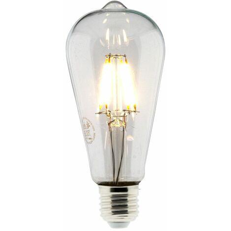 Ampoule Déco filament LED ST64 4W E27 470lm 2700K (blanc chaud)